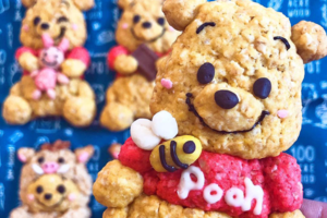 【Winnie the Pooh】日本烘焙達人巧手自家製 可愛卡通Q版蜂蜜小熊維尼曲奇