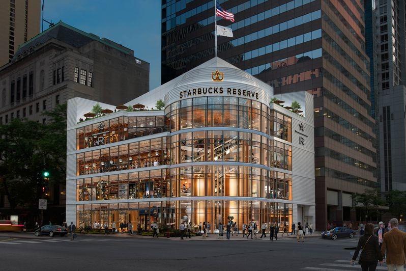 【Starbucks】第6間Starbucks Roastery烘焙工房11月登陸美國芝加哥 樓高4層43,000呎全球最大分店