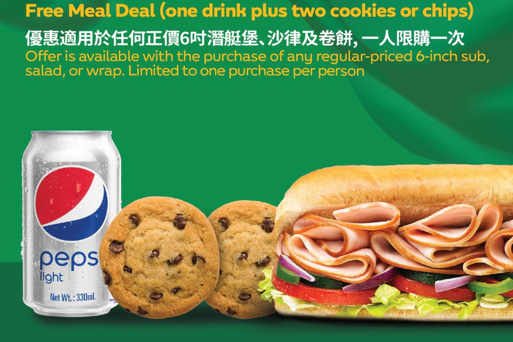 【Subway】Subway新概念餐廳Fresh Forward中環開新店 開幕當日可享免費升級套餐優惠
