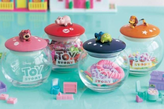 日本迪士尼多款toy story精品 糖果收納罐/和式飯盒/廚房專用地毯/午餐袋/水杯