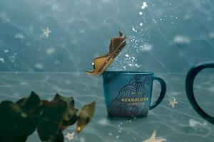 【新加坡Starbucks】新加坡Starbucks推出週年紀念新限定 夢幻海洋系列水杯