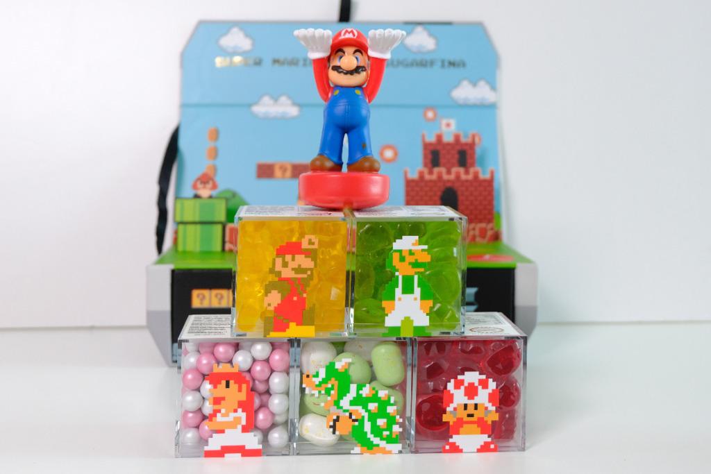 【Super Mario Bros】Sugarfina聯乘任天堂 推出經典紅白機禮盒+孖寶兄弟糖果系列