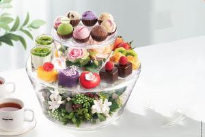 【Häagen-Dazs雪糕】Häagen-Dazs聯乘innisfree推下午茶套餐  一次食勻8款口味雪糕球/6款甜品蛋糕