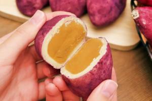 【韓國CU必買】韓國便利店早餐飽肚之選 軟熟爆餡香甜蕃薯包