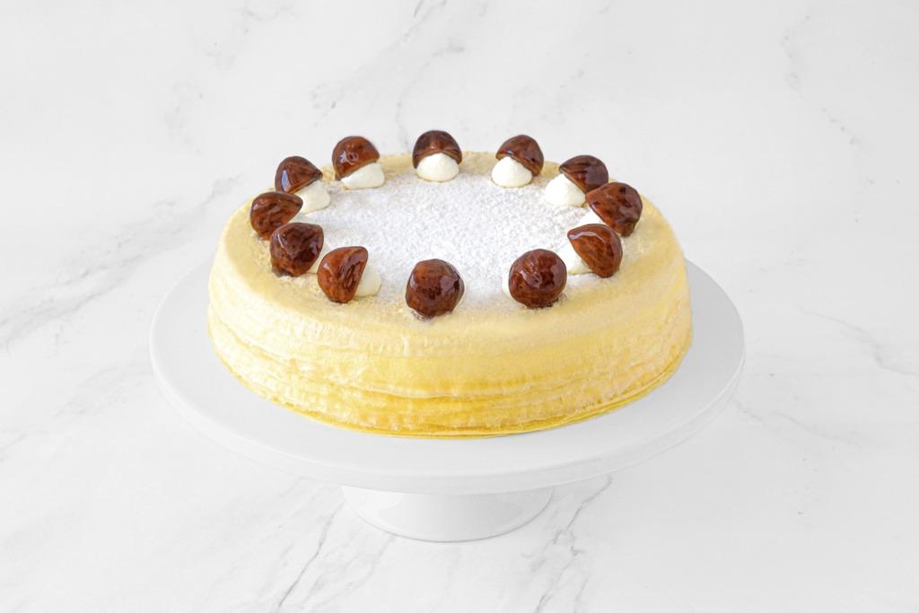 栗子千層蛋糕
