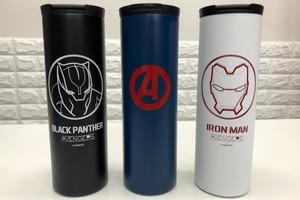 【便利店新品】7-Eleven聯乘Marvel Avengers   推出美國隊長/Iron Man/黑豹保溫杯