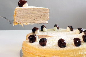 【Lady M蛋糕】內有粒粒栗子肉!Lady M秋季新口味蛋糕  栗子千層蛋糕