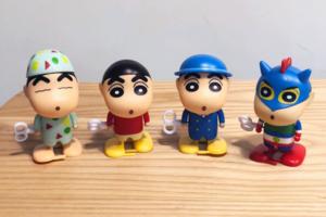 【台灣全家必買】台灣便利店期間限定 蠟筆小新公仔/發條玩具/USB線保護套