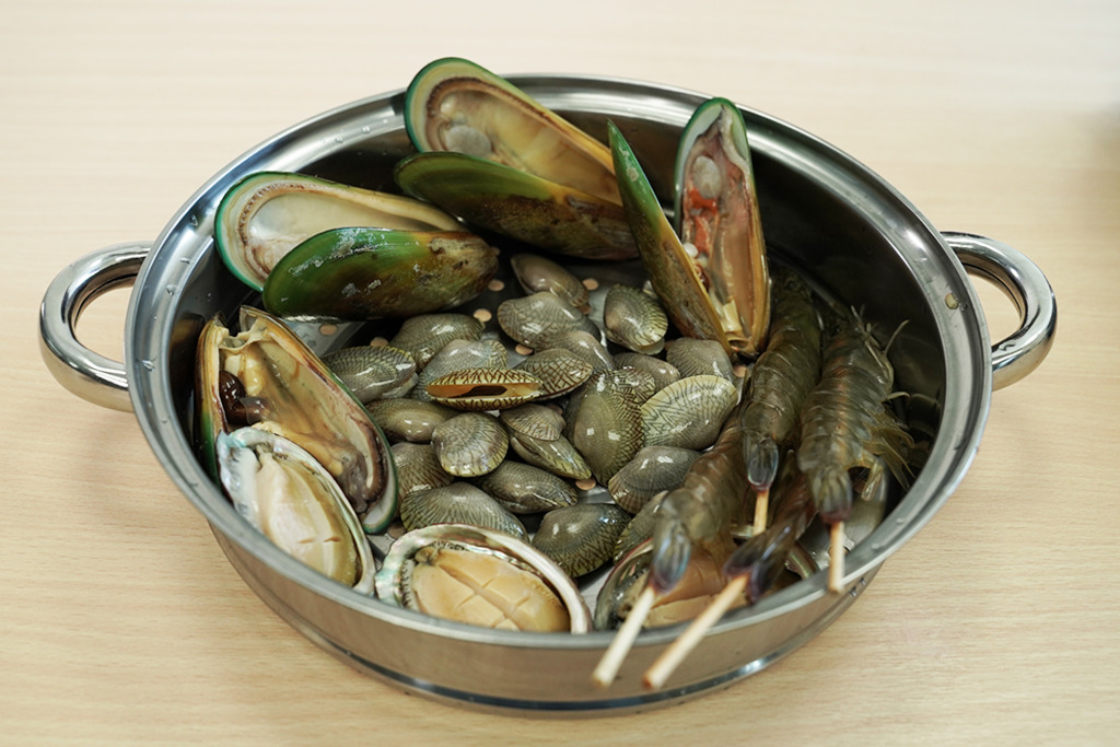多款限時優惠海鮮粥底火鍋推介 新鮮鮑魚/花甲/青口/贈送蒸氣煲