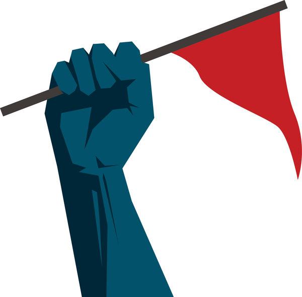 Flag up