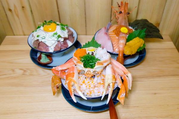 【廣福道美食】大埔新開日式海鮮丼飯「一鳴丼食堂」 原隻蟹腳甲羅丼/炙燒牛肉丼/明太子玉子燒