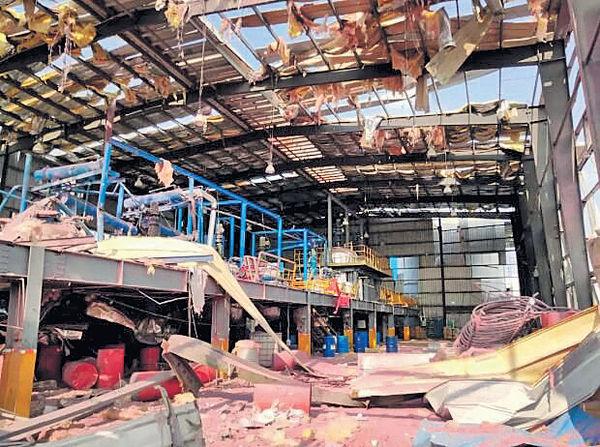 生產膠水操作不當 廣西化工廠爆炸4死7傷