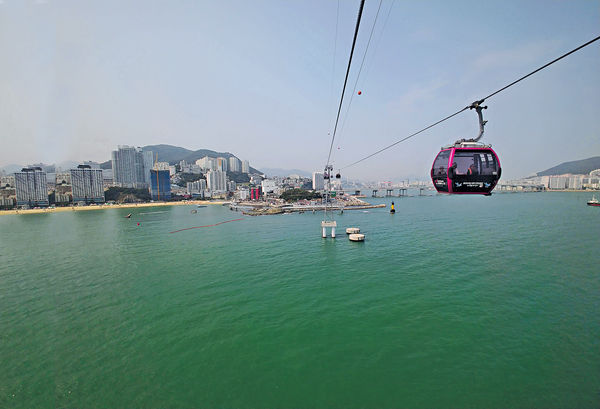 釜山尋找最美麗海景