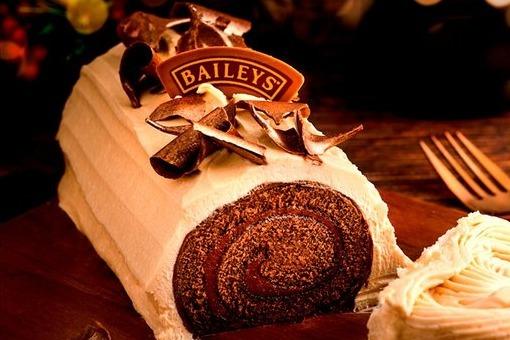 【Baileys甜品】外國大型超市推出新甜品 Baileys甜酒朱古力卷蛋!
