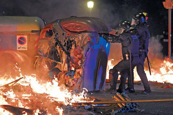加泰示威持續 今號召大罷工