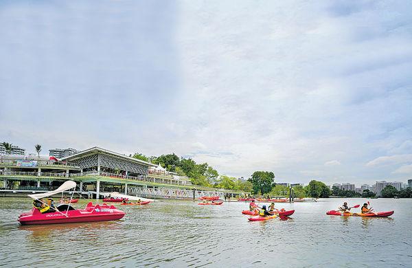 新加坡生態公園 親親大自然兼玩水
