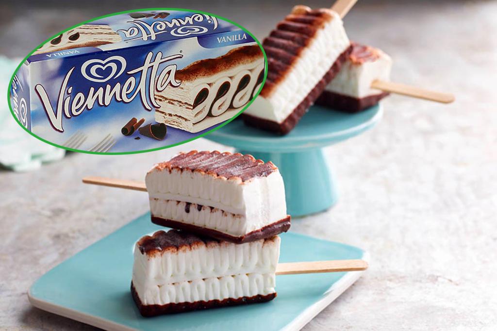 【Viennetta千層雪糕蛋糕】變奏版童年回憶Viennetta千層雪糕迷你雪條 薄荷朱古力/雲呢拿/士多啤梨味