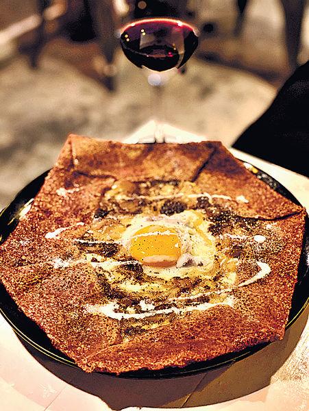 正宗創意法國薄餅