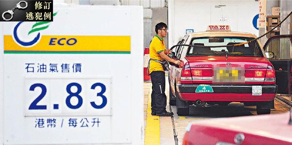 政府花近$14億 補貼商用車燃料費 的士紅Van入氣每升減$1