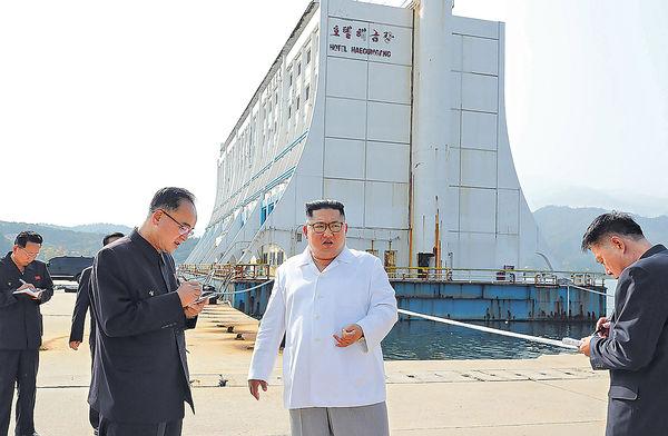 金正恩下令 拆金剛山南韓設施