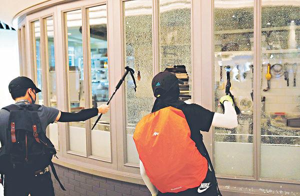 親中商店被毁 當局指無措施助個別企業