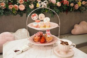 【中環下午茶】打卡一流!中環夢幻少女Café Vive Cake Boutique限定推出  MyMelody下午茶/卡通造型蛋糕/Melody禮品盒