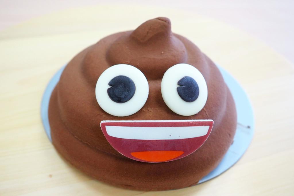 【聖安娜蛋糕】聖安娜餅店推出3D立體造型Emoji蛋糕 賣相盞鬼/比利時朱古力慕絲+朱古力流心