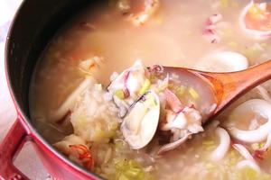 【粥食譜】暖笠笠高蛋白料理食譜 鮮甜暖胃海鮮粥