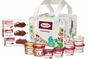 【Häagen Dazs雪糕】Häagen Dazs推出迪士尼冰袋派對套裝 Toy Story別注/復古版冰袋+11件雪糕杯/雪糕批