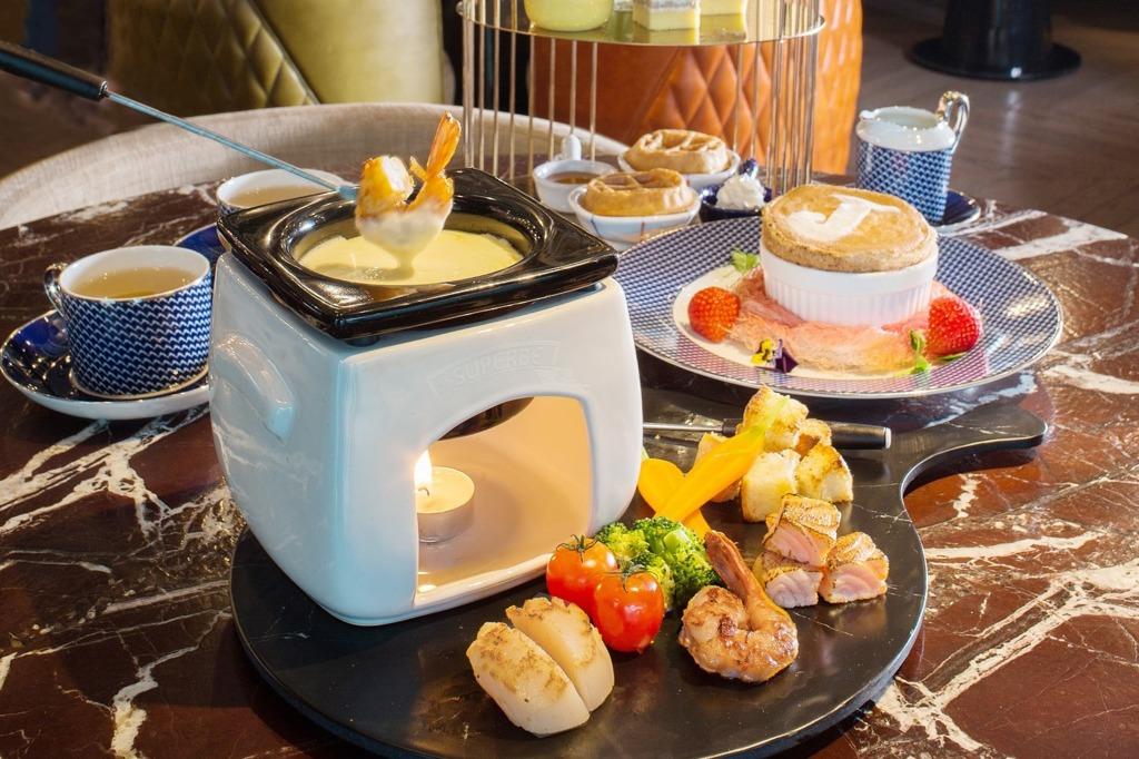 【尖沙咀下午茶】尖沙咀帝苑酒店推出全新海鮮芝士火鍋下午茶  北海道帶子/黑松露劇院蛋糕