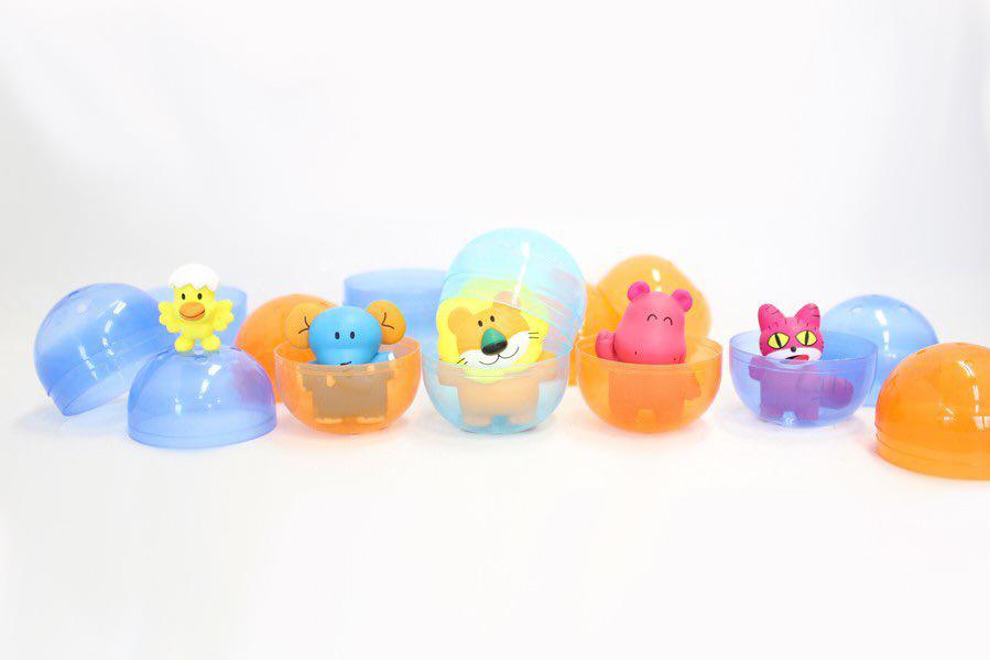 【童年回憶】日本SK JAPAN推出新系列扭蛋 一套5款愉快動物餅零食造型扭蛋