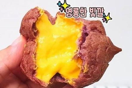 韓國CU便利店推出特色甜品 爆餡蕃薯忌廉泡芙