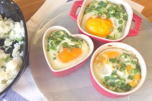 【中式食譜】4步超簡易早餐食譜  薯蓉焗流心蛋