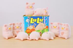 【精品玩具/LuLu豬罐頭】香港有得買午餐肉罐頭豬Lulu 有可愛限量愛心版Lulu豬!