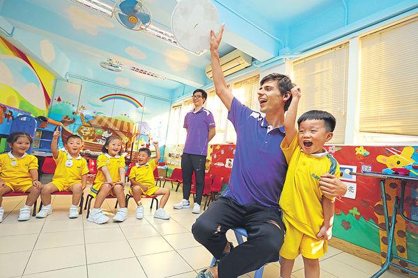 幼稚園男老師 為校園添活力