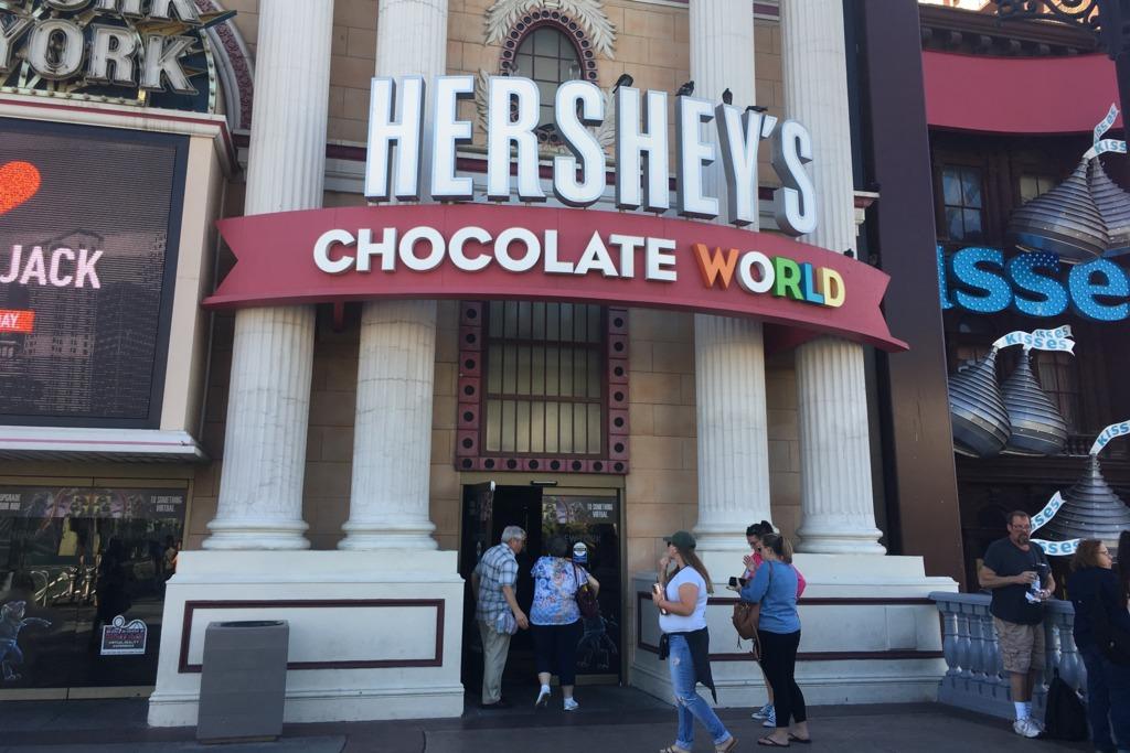 【美國美食】打卡好去處!美國Hershey's 朱古力世界  限定精品/特別版朱古力/現烤甜品/奶昔
