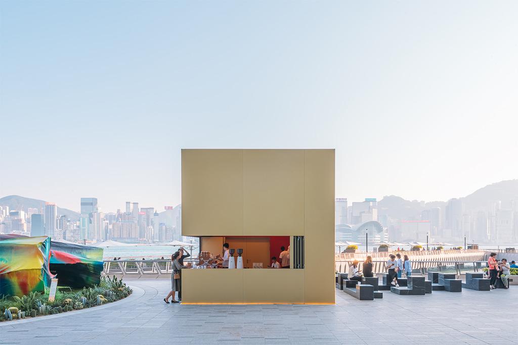 【尖沙咀Cafe】%Arabica登陸尖沙咀K11 MUSEA海濱 海旁打卡金色咖啡立方亭歎精品咖啡