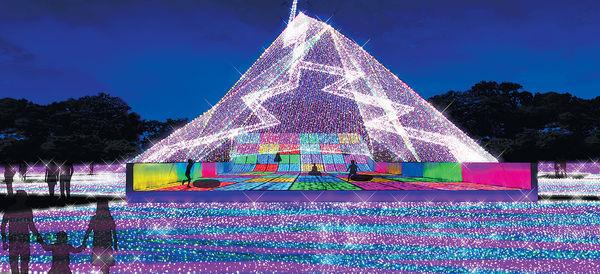 650萬顆聖誕寶石 閃亮東京讀賣樂園