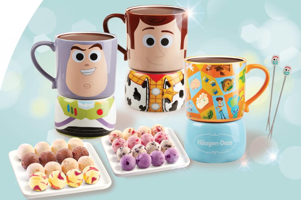 【Häagen Dazs雪糕】Häagen Dazs推出迪士尼系列雪糕火鍋 FROZEN 2/胡迪/巴斯光年造型雪糕火鍋+雪寶叉