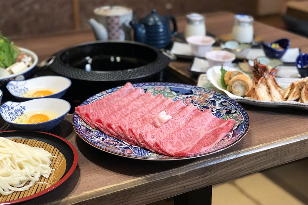 銅鑼灣正宗壽喜燒專門店「Hana華小料理屋」 新推日本直送飛騨A5和牛套餐