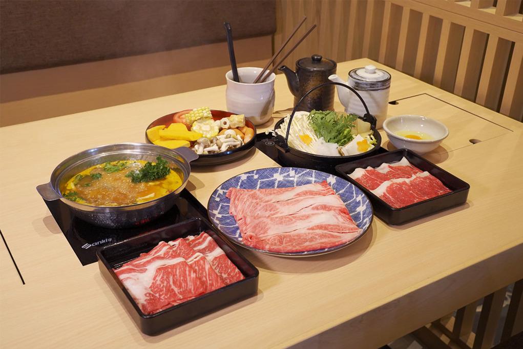 東涌日式壽喜燒火鍋店「鍋處Hana」 新推任食日本A5頂級米澤和牛放題