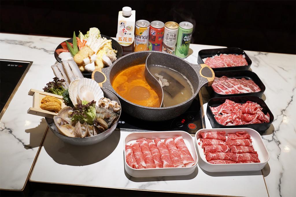 尖沙咀日式火鍋放題店「熊本牛鍋」 主打$268五小時任食極級牛小排/送海鮮拼盤+海膽