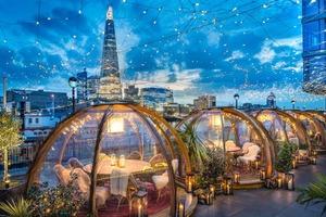 【英國美食】遊英必去!英國倫敦人氣打卡餐廳「Coppa Club」 置身夢幻玻璃屋欣賞泰晤士河夜景
