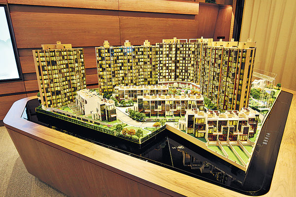 山水盈3房大戶 攻換樓客 低密度發展 具高私隱度