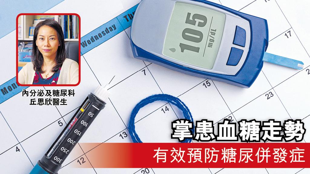「掌患血糖走勢 有效預防糖尿併發症」
