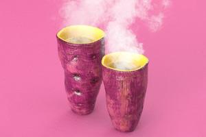 【廚具用品】秋冬必備!日本超像真有趣家品  暖笠笠紫薯咖啡杯