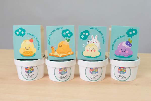 【雪糕牌子】本地品牌Igloo Dessert Bar推出杯裝手工Gelato 4款人氣口味一田指定分店有售