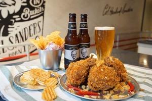 【KFC】KFC全新推出4款新品 手工啤酒/Lay's薯片脆雞/紅豆麻糬葡撻