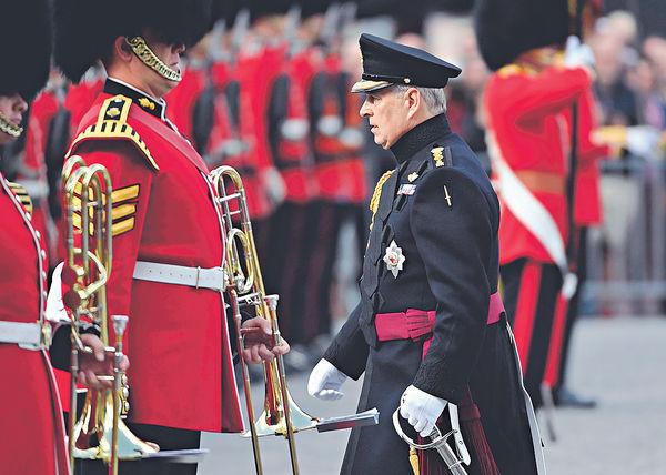 捲愛潑斯坦性醜聞案 安德魯王子辭皇室公職