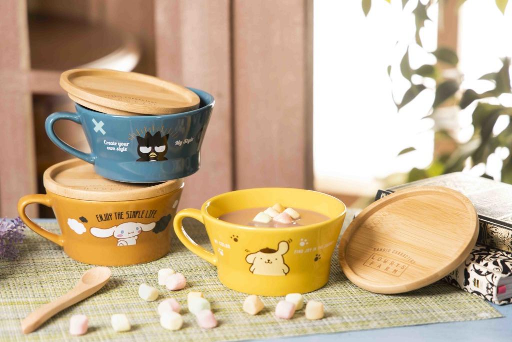 【便利店新品】7-Eleven推出SANRIO實用家品  5款限量版陶瓷杯連竹蓋